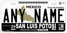 San Luis Potosi Mexico Any Name Number Novelty Auto Car License Plate C03
