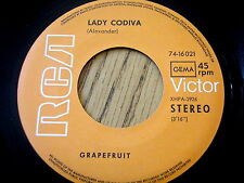 GRAPEFRUIT - LADY GODIVA / CAN'T FIND ME