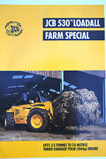 Original JCB 530-70 Loadall Farm Special Promotion Brochure English Text