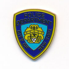 POLICE DEPARTMENT NEW YORK NY BADGE NYPD EMBLEMA polizia pin spilla 0090
