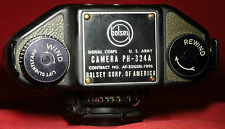 BOLSEY B2 CAMERA. US ARMY SIGNAL CORPS. [PH-324A]. MILITARY/COMBAT/GREEN