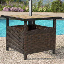 Best Choice Products SKY2475   Wicker Outdoor Patio Umbrella Stand