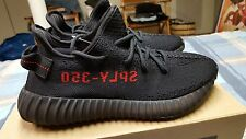 100% Authentic Adidas Yeezy Boost 350 V2 Black Red Bred U.S. Size 7.5