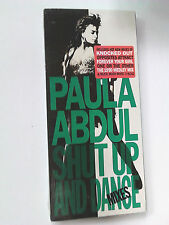 Paula Abdul ~ SHUT UP AND DANCE (MIXES) ~ cd 1990 NEW LONGBOX (long box)