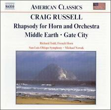 Craig Russell: Rhapsody for Horn and Orchestra; Middle Earth; Gate City, New Mus