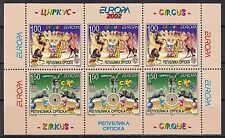 EUROPA CEPT - 2002 - Bosnia and Herzegovina - 1.Booklet Pane ** MNH