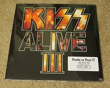KISS ALIVE 3 RED COLORED VINYL FACTORY SEALED #348