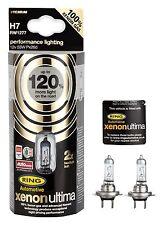 H7 Halogen 120% Xenon Ultima Lampen Birnen Fernlicht 12V 55W mit Xenongas