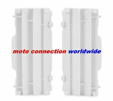 NEW POLISPORT YAMAHA YZ125 YZ250  06 - 17 WHITE RADIATOR LOUVRES COVERS