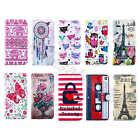 Wallet Card PU Leather Protector Stand Fitted Purse Cover Case For Mobile Phones