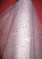 SEQUIN DIAMANTE SPANGLE TULLE, BRIDAL,SEWING & CRAFTS,DECORATIONS,STAGE WEAR