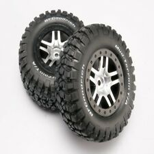 Traxxas 6873 Mounted BFGoodrich Tires/WHeel (2) Rear Slash 2wd/4X4
