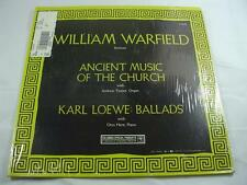 William Warfield - Ancient Music Of The Church - Sealed New - Free Shipping