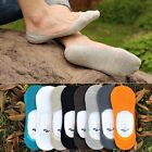 10 Pairs Lot Men Cotton Invisible Summer Loafer Boat Liner Socks No Show Low Cut