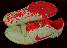 New Nike Zoom Rival S Men's Spikes Shoes Size: 12 Volt/Atomic Red #456811-761