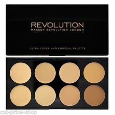 Makeup Revolution London COVER AND CONCEAL PALETTE CONTOURING Light- Medium