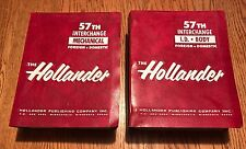 56th Edition Hollander Foreign/Domestic Auto Truck Interchange Manual Set