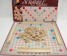 Scrabble Crossword Game 1982 by Selchow & Righter Complete Very Good