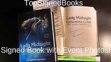 SIGNED The Dark Artifices Lady Midnight Cassandra Clare first print with photos