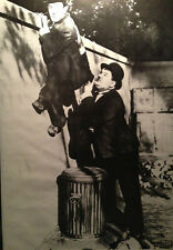 LAUREL & HARDY Poster  - Classic Comedy Full Size Print ~ Celebrity B&W
