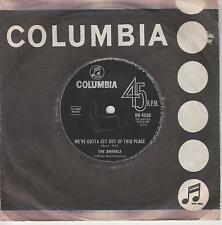 "THE ANIMALS - We've Gotta Get Out Of This Place -1965 Australian 7"" vinyl single"