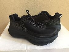 HOKA ONE ONE MEN BONDI 5 WIDE BLACK/ANTHRACITE SHOE US 12.5 2E /EU 47 1/3 /UK 12