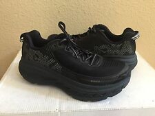 HOKA ONE ONE MEN BONDI 5 BLACK/ANTHRACITE RUNNING SHOE US 13 / EU 48 / UK 12.5
