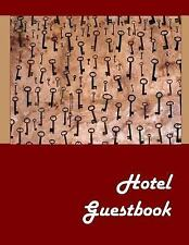 Hotel Guestbook by Lazaros' Blank Books (2016, Paperback)