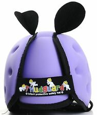 Thudguard Infant Baby Safety Protective Head Gear Helmet Hat Lilac NEW