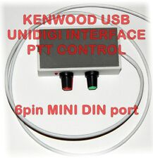 Kenwood Digi Interface with PTT - PSK,PSK31,RTTY,SSTV /TS-480,TM-D700,TM-V7, +++