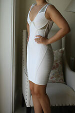 HERVE LEGER VERSA DRESS S UK 8