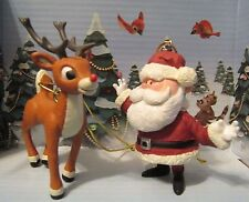 Rudolph The Red Nosed Reindeer Santa Claus and Rudolph