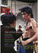 "BRUCE LEE FOREVER Fold-Out Poster-Magazine ""ON-SET ENTER THE DRAGON"" Special"