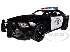 2013 FORD MUSTANG BOSS 302 HIGHWAY PATROL 1/18 CAR BY SHELBY COLLECTIBLES SC460