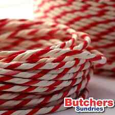Red White Bakers Butchers Catering String / Twine Craft 190g = 100m