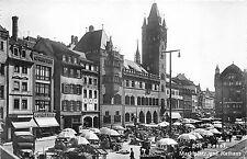 BG29568 basel marktplatz und rathaus  switzerland  CPSM 14x9cm