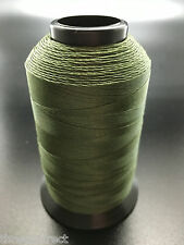4oz Spool Camo Green T70 1500 Yards Bonded Polyester Sewing Thread Fabric #69 P1