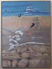 "Winters Last Snow - Original oil painting by Molinda Sunde' Parker - 36"" X 48"""