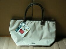 PICNIC TIME TOPANGA NATURAL TEA STAIN INSULATED WATERPROOF TOTE BAG *NEW*