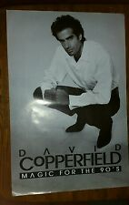 "Mint condition David Copperfield poster Magic for the 90's 36""x24"""