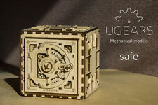 Ugears  Safe  Mechanical 3D Wooden Puzzle