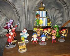 14 Disney PVC Peter Pan Tic Toc  Lost Boys Captain Hook Smee Figures Cake Topper