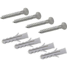 4 x Satellite Dish Fixing Screws for Wall, Chimney and Ground Brackets M8 x 50mm