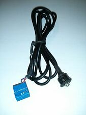 CABLE PANEL AUX IN MP3 IPOD IPHONE Golf Polo Passat 2012 - ONLY WITH aux ACTIVE