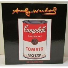 Andy Warhol Campbell's Tomato Soup 550 Piece Jigsaw Puzzle