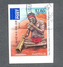 Australia-Music Aborigine self-adhesive fine used cto ((3667)-2011
