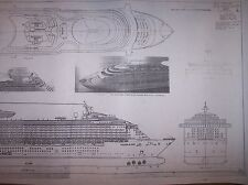 VOYAGER OF THE SEAS ship plans
