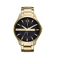 ARMANI EXCHANGE AX2122 Smart Gold Black Dial Chrono 46MM BRAND NEW AUTHENTIC AX
