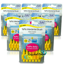 36 Tepe Interdental Brush 0.7mm Yellow Size 4