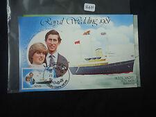 Nevis 1981 Matrimonio Reale Set 3 CARTOLINE IED